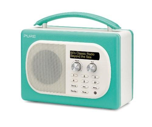 Pure Evoke D4 Mio DAB Digital/FM Radio Turquoise