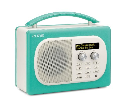 pure evoke d4 mio dab digital fm radio turquoise. Black Bedroom Furniture Sets. Home Design Ideas