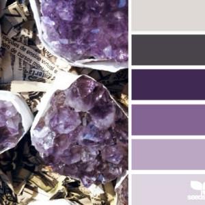 Purple Kitchen Colour Scheme