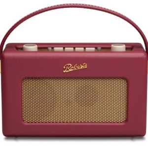 Roberts RD60 Revival DAB/FM RDS Digital Radio Burgundy