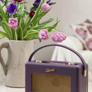 Roberts RD60 Revival DAB/FM RDS Digital Radio Purple