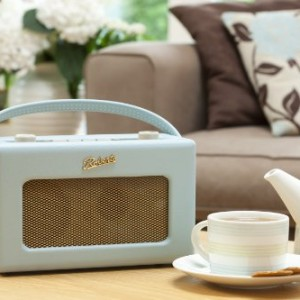 Roberts RD60 Revival DAB/FM RDS Radio Duck Egg Blue