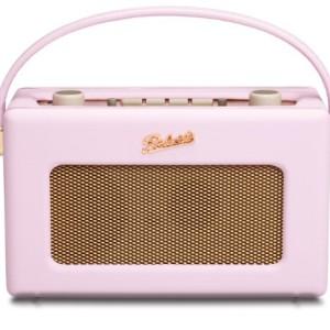 Roberts RD60 Revival DAB/FM RDS Digital Radio Pastel Pink