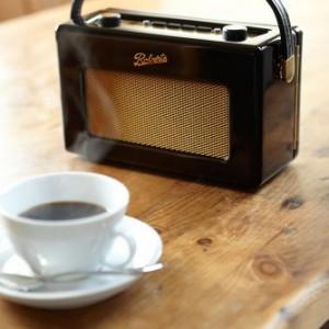 Roberts RD60 Revival DAB/FM RDS Digital Radio Gloss Black