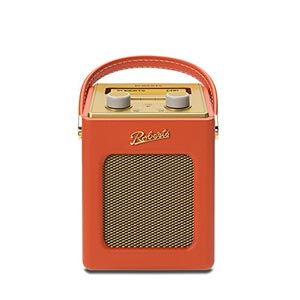 roberts revival mini dab dab fm digital radio orange. Black Bedroom Furniture Sets. Home Design Ideas