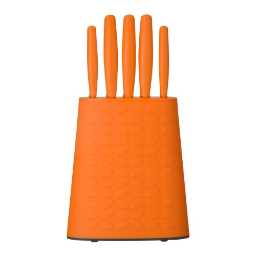 Premier Housewares 5 Piece Knife Set Orange