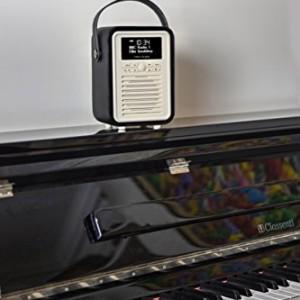 View Quest Retro Mini DAB+ Radio & Bluetooth Speaker Black