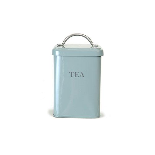 Garden Trading Tea Canister Duck Egg Blue