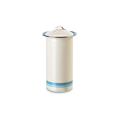 Jamie Oliver Big Old Storage Tin Duck Egg Blue & Cream