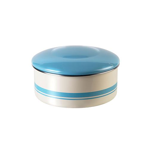Jamie Oliver Vintage Cake Tin Duck Egg Blue & Cream