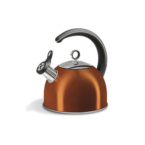 Morphy Richards Cordless Copper Kitchen Whistling Kettle 2.5l