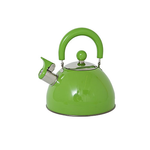 Panorama Retro Whistling Kettle Apple Green