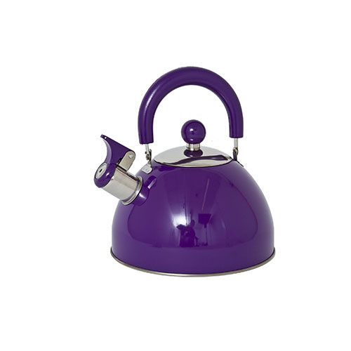 Panorama Retro Whistling Kettle Purple