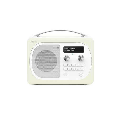 Pure Evoke D4 Mio DAB Digital/FM Radio Almond Cream