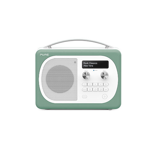 Pure Evoke D4 Mio DAB Digital/FM Radio Mint Green