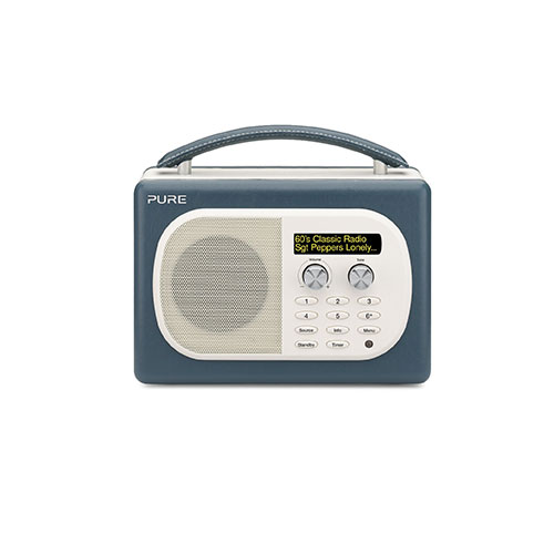 pure evoke d4 mio dab digital fm radio teal. Black Bedroom Furniture Sets. Home Design Ideas