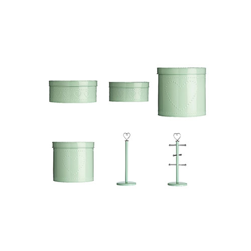 Shop of Accessories 6 piece Kitchen Utensil Set, Mint Green