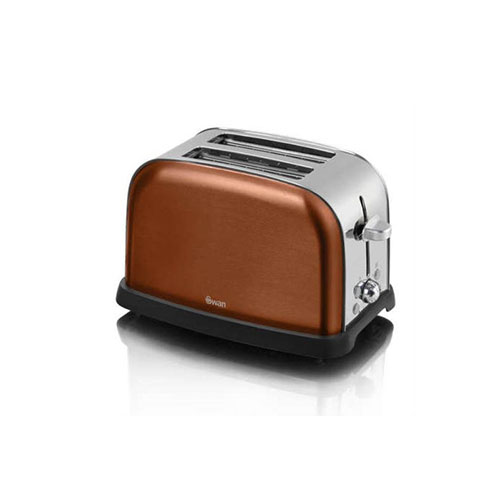 Swan ST16020COPN 2-Slice Metallic Toaster Copper