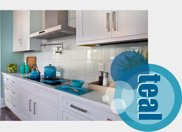 Teal Kitchen Accessories