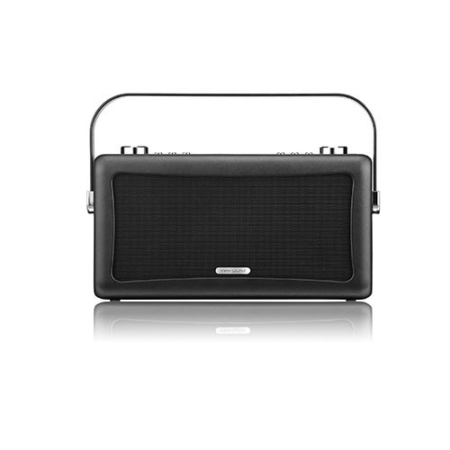 View Quest Hepburn Bluetooth System with DAB+ Radio Black