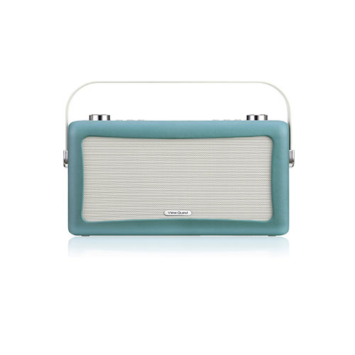 View Quest Hepburn Bluetooth System with DAB+ Radio Teal