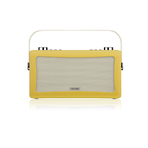 View Quest Hepburn Bluetooth System with DAB+ Radio Yellow
