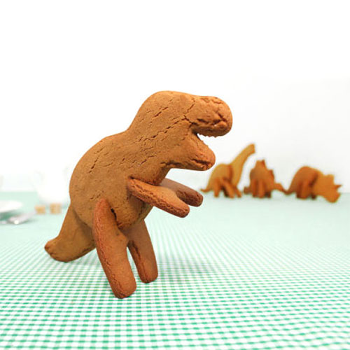 3D Dinosaur Cookie Cutter