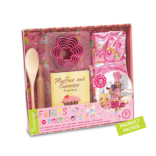 Cooksmart Girls Chef Set (fairies), 10 Piece