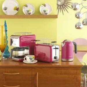 Kenwood kMix CM029 Filter Coffee Maker - Bright Magenta