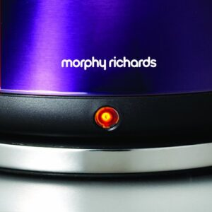 Morphy Richards Accents 43769 Pyramid Kettle - Plum Purple