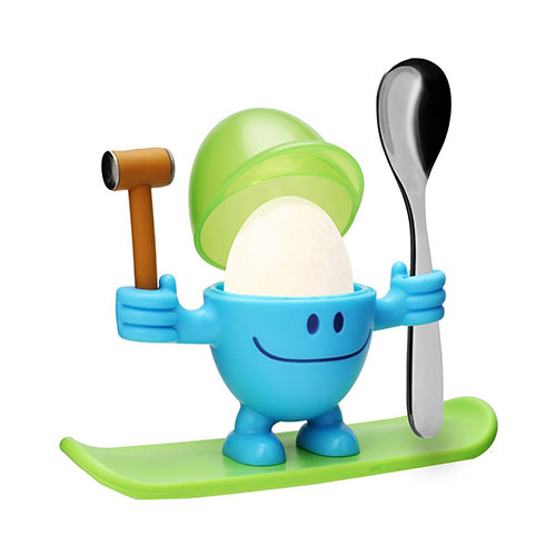 'Mr Egg' Egg Cup with Spoon