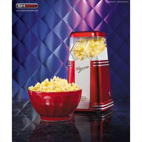 Nostalgia Electrics SMART Retro Mini Hot Air Popcorn Maker