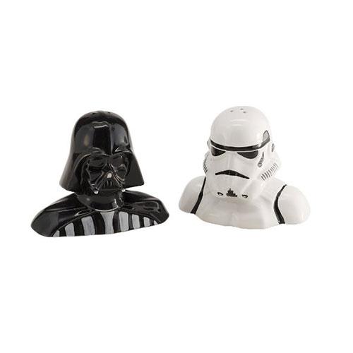 Star Wars Darth Vader Salt and Pepper Ceramic Set in Gift Box