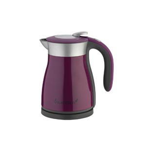 Vektra Electric Vacuum Kettle, 1.2 Litre, 1350 Watt, Purple`Vektra Electric Vacuum Kettle, 1.2 Litre, 1350 Watt, Purple