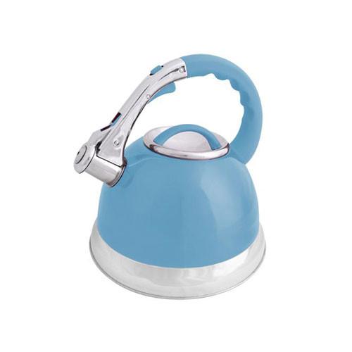 Anika 3 Litre Whistling Kettle Duck Egg Blue