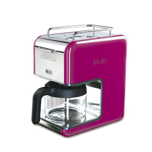Kenwood kMix CM029 Filter Coffee Maker - Bright Magenta