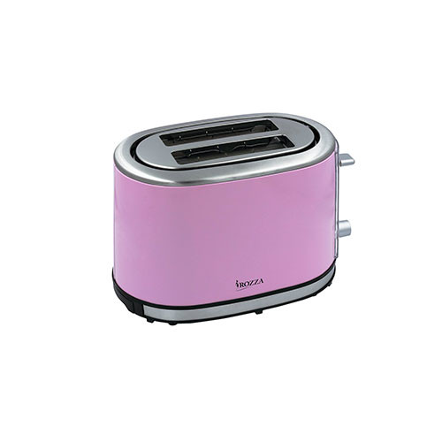 Rozza Retro 2 Slice Toaster Pink