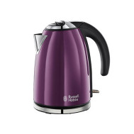 Russell Hobbs Stainless Steel Colours Kettle (18945) Purple