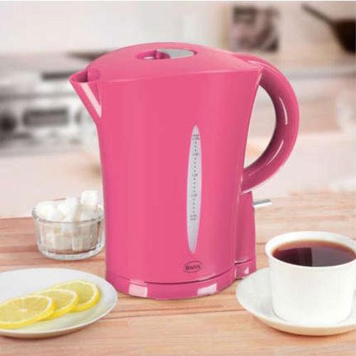 Swan Hot Pink Jug Kettle, 1.7L, 2.2KW