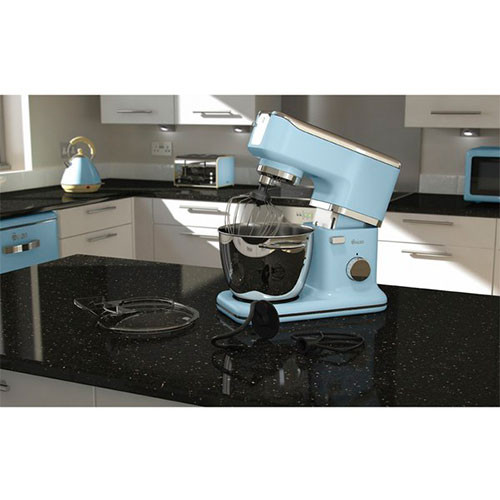 Swan Retro Stand Mixer - Duck Egg Blue (1000w) kitchen