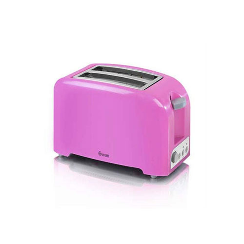 Swan ST14030PIN 2 Slice Toaster Hot Pink