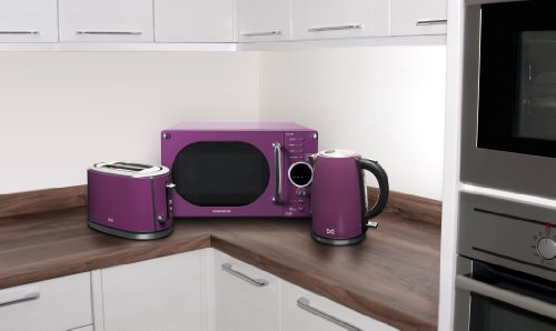 Daewoo Dst2a3p Two Slice Toaster Purple