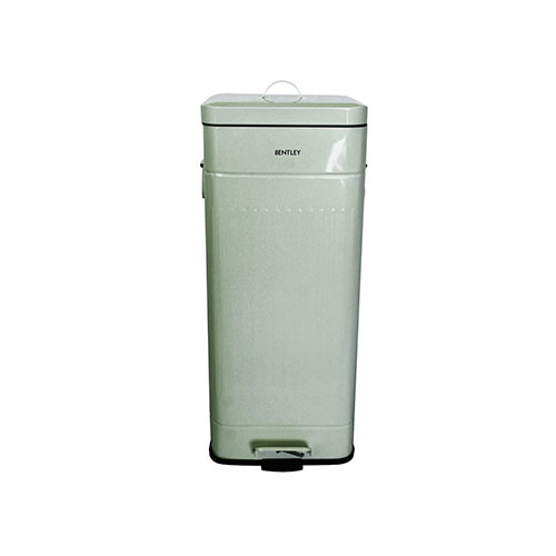 Bentley Home 30 Litre Retro Kitchen Pedal Bin Pale Green