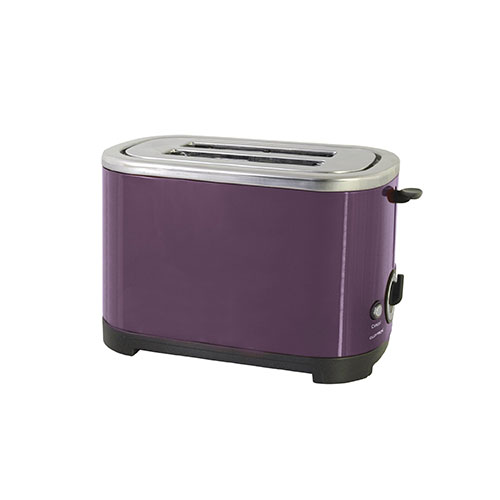 Lloytron 2-Slice Toaster 700 Watt Plum Purple