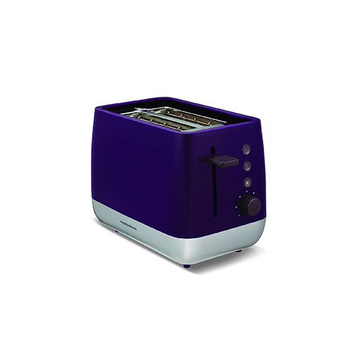 Morphy Richards 221108 Chroma 2 Slice Toaster Plum Purple