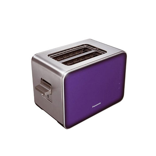 Panasonic NT-ZP1VXC Toaster 2 Slice 850 Watt Violet Purple