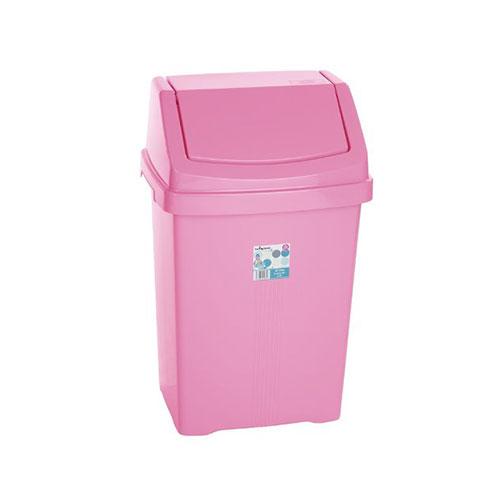 Pink Princess Kitchen Swing Top Pink Waste Bin
