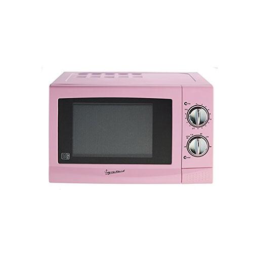 Signature Pastel Pink Microwave 700 Watt