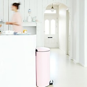 Brabantia Pink Flatback Pedal Bin 30 Litre
