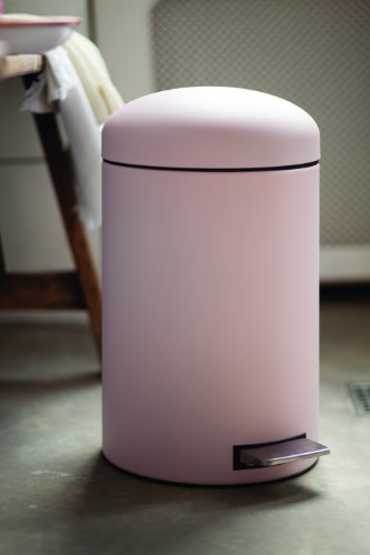 Brabantia Retro Pink Bin 12 Litre